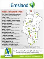 Mobile Aktion bringt Impfung vor die Haustür  Start ab Freitag – Keine Anmeldung und freie Impfstoffwahl