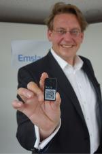 Landkreis Emsland stellt luca-Schlüsselanhänger zur Verfügung, erhältlich im Haselünner Rathaus
